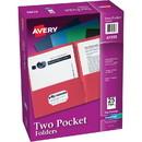 Avery Two Pocket Folder, Letter - 8.50
