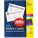 Avery Printable Index Card