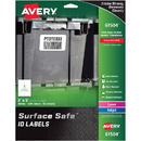Avery Surface Safe ID Labels, AVE61504