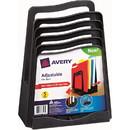 Avery Five Slot Plastic Adjustable File Rack