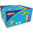Avery Hi-Liter Bonus Pack, Chisel Marker Point Style - Fluorescent Yellow, Fluorescent Pink Ink - 24 / Pack