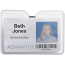 Advantus 75456 ID Badge Holder with Clip