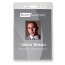 Baumgartens ID Badge Holder, 3.9