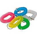 Baumgartens Wrist Coil Key Chain, 1 / Each - Assorted