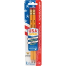 The Write Dudes Jumbo USA Gold Premium No. 2 Pencils, BDUDTN77