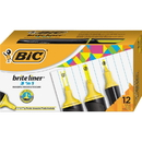 BIC Brite Liner 3'n-1 Highlighter, BICBL311YW