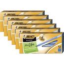 BIC Round Stic Ballpoint Pens, BICGSM11BEBD