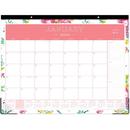 Blue Sky Day Designer Floral Desk Pad, BLS103631