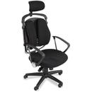 Balt Spine Align Executive Chair, Black - Foam, Fabric Seat - Foam Back - 26