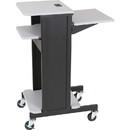 Balt Projector Stand, 2 x Shelf(ves) - Gray
