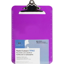 Business Source Spring Clip Plastic Clipboard, BSN01862BX