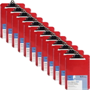 Business Source Spring Clip Plastic Clipboard, BSN01864BX