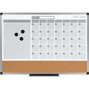 MasterVision 3-in-1 Monthly Dry-erase Calendar Board, BVCMB0707186P