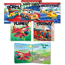 Rourke Educational Big Busy Machines Board Book Set Education Printed Book, CDP418723