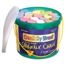 ChenilleKraft Reusable Tub Sidewalk Chalk, 4
