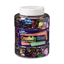 ChenilleKraft Shaker Jar for Sequins and Spangles, Assorted