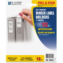 C-line Self-Adhesive Binder Label Holders, 2.3