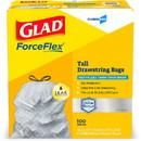 Glad ForceFlex Tall Kitchen Trash Bags, CLO70427BD