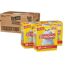 Glad Strong Tall Kitchen Trash Bags, CLO78564CT