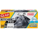 Glad ForceFlex KitchenPro 20-gal Drawstring Bags, CLO78913