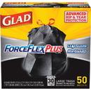 Glad ForceFlexPlus Drawstring Large Trash Bags, CLO78997