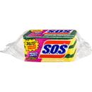 S.O.S Heavy-Duty Scrubber Sponge, CLO91029