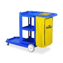 Continental Janitorial Cart, 25 gal Capacity - 8