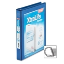 Cardinal XtraLife ClearVue Non-Stick Locking Slant-D Ring Binder, CRD26302