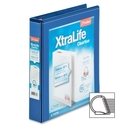 Cardinal XtraLife ClearVue Non-Stick Locking Slant-D Ring Binder, CRD26312