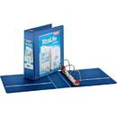 Cardinal XtraLife ClearVue Non-Stick Locking Slant-D Ring Binder, CRD26332