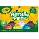 Crayola 6-color Acrylic Paint Set
