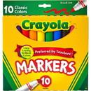 Crayola Classic Broadline Markers - 10 ct.