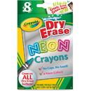 Crayola Washable DryErase Neon Crayons
