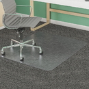 Deflect-o SuperMat Medium Weight Chair Mat, Carpeted Floor - 53