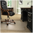 Deflect-o Beveled Edge Chair Mat, Carpeted Floor - 60