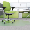 Deflect-o Low-pile EnvironMat Recycled Chairmat