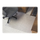 Deflect-o SuperMat Checkered Chair Mat, Carpeted Floor - 60