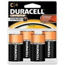 Duracell MN1400R4Z C Size Alkaline General Purpose Battery, C - Alkaline - 1.5 V DC