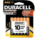 Duracell Alkaline General Purpose Battery, AAA - Alkaline - 1.5 V DC, DURMN24RT12Z