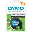 Dymo LetraTag 16952 Printer Tape Cassette, 0.50