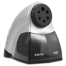 X-Acto Prosharp Electric Pencil Sharpener, 6 Hole(s) - 6.3