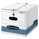 Bankers Box Stor/File - Letter/Legal, String & Button, Internal Dimensions: 12