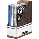 Bankers Box Magazine Files - Oversized Letter