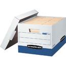 Bankers Box R-Kive - Letter/Legal, White/Blue 4pk