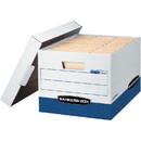 Fellowes Bankers Box R-Kive - Letter/Legal, White/Blue, 20pk, FEL0724314