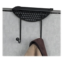 Fellowes Perf-ect Partition Additions Double Coat Hook, 2 HookMetal Hook - Black