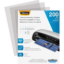 Fellowes Thermal Laminating Pouches - Letter, 3 mil, 200 pack, FEL5743401