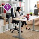 Computex Anti-Static Advantagemat Chair Mat for Standard-pile Carpets