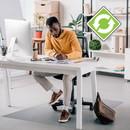 Ecotex Hard Floor Rectangular Chairmat, FLRFCECO123648E
