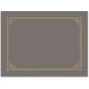 Geographics Gray Linen Document Covers, GEO49323